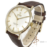 Omega Seamaster DeVille Linen Dial Automatic Vintage Watch