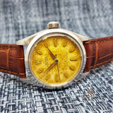 RARE Rolex Oyster Royal 6444 Tropical Dial Vintage Watch (1959)