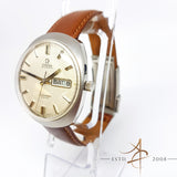 Omega Seamaster Cosmic Ref. 166.035 Pie Pan Day Date Automatic Vintage Watch