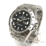 Rolex Explorer II Ref 16570T Black Automatic Steel Watch (Year 2004)
