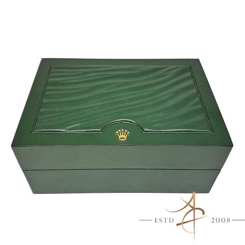 Rolex Genuine Box Inner Box Wave Green