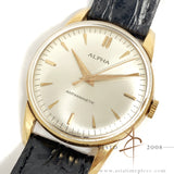 Alpha 18K Rose Gold Winding Vintage Watch