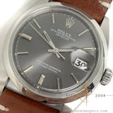[Rare] Rolex Datejust 1600 Grey Dial (Year 1973)