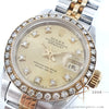 Rolex Datejust Ladies 69173 Diamond Dial