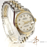 [Full Set] Rolex Ladies Datejust Ref 69173 Roman Computer Dial Gold Steel
