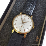 Lanco De Luxe 9k Gold Swiss Winding Vintage Watch