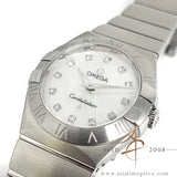 Omega Constellation Mother of Pearl Diamond Dial Ladies Quartz Watch