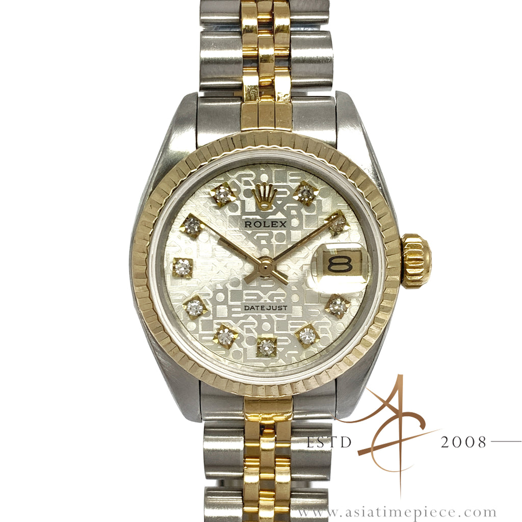 ade5fbe547c Rolex Datejust Ladies 6917 Custom Computer Diamond Dial Vintage Watch –  Asia Timepiece Centre