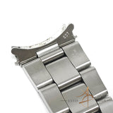 Rolex 19mm Thick Oyster Steel Metal Bracelet Ref 78350 End Link 557