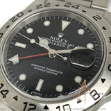 (SOLD) Rolex Explorer II 16570 Black Swiss Only Dial (Year 1999)