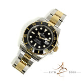 [Full Set] Rolex Submariner Date 116613LN Ceramic Black Date 18k Gold Steel (2017)