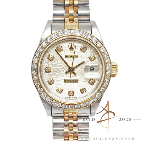 Rolex Ladies Datejust 69173 Computer Diamond Dial (1996)