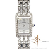 Condord Veneto Diamond 18k White Gold Quartz Lady 61-25-680