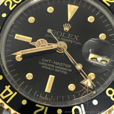 Rolex GMT Master 1675 Black Nipple Dial Vintage Watch (1975)