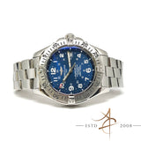 [Full Set] Breitling Superocean Ref A17360 Automatic Chronometre Blue Dial