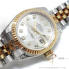 (LNIB) Rolex Datejust Ladies 179173 Mother of Pearl Diamond Dial Full Set