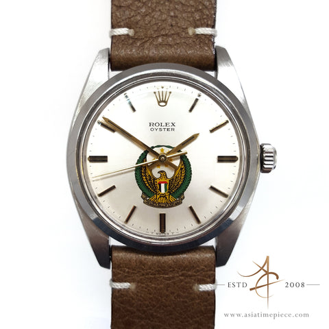 "Rolex ""UAE Eagle"" Dial Ref 6426 Winding Vintage Watch"