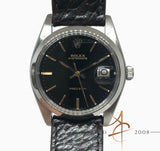 Rolex Oysterdate Precision Ref 6694 Black Dial Vintage Watch (Year 1981)