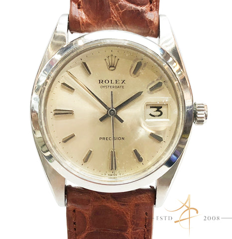 Rolex Oysterdate Precision Ref 6694 Vintage Watch (Year 1966)