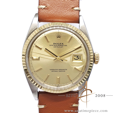 Rolex Datejust 1601 Champagne Dial Vintage Watch (1971)