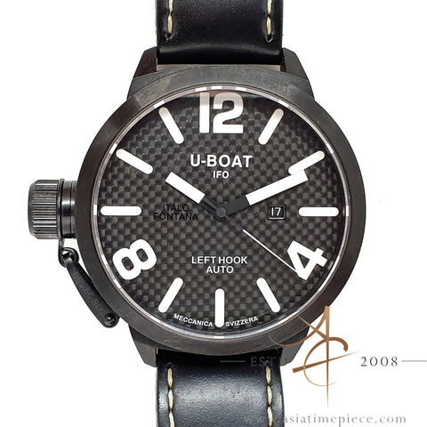 Uboat Classico IFO Left Hook 53mm Black PVD (2008)