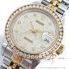 Rolex Datejust Ladies 69173 Diamond Computer Dial No Pinhole (1993)