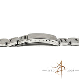 Rolex 19mm Thick Oyster Steel Bracelet With End Link 557 (Year 1977)