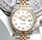 Rolex Datejust 116231 Diamond Everose Gold Jubilee (2012)