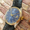 Rolex 1601 Blue Dial Vintage Watch (Year 1981)