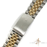 Rolex Jubilee 62523H 18K Gold Steel 20mm Bracelet End Links 455 (Year 1987)