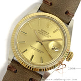 Rolex Datejust 1601 Champagne Dial Vintage Watch (1972)