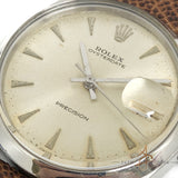 [Rare] Rolex Oysterdate Precision Ref 6694 No Lume Small Arrow Dial (1964)