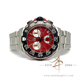 Tag Heuer Formula 1 Professional CAC1112 Red Chronograph Quartz Watch