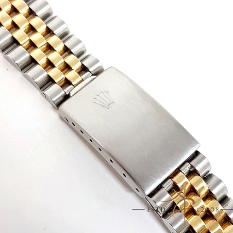 Rolex Jubilee Bracelet Two Tone 18K Gold Steel 62523H Steelinox 20mm