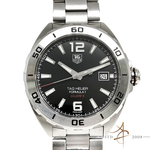Tag Heuer Formula 1 Calibre 5 WAZ2113 Automatic 41mm Watch