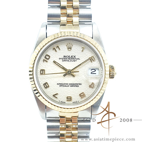 Rolex Datejust Midsize 68273 Computer Dial Vintage Watch (1983)