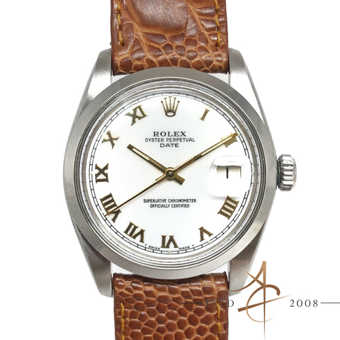 Rolex Oyster Perpetual Date Ref 1500 Automatic Vintage Watch (Year 1980)