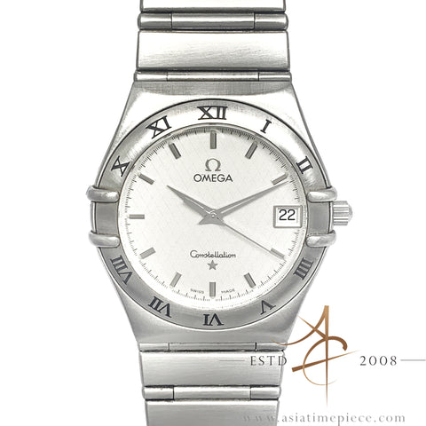 Omega Constellation Quartz 34mm Steel Watch