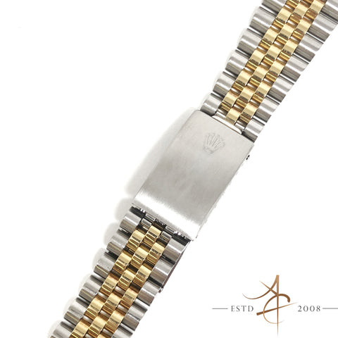 Original Rolex 62523H Jubilee 18K Gold Steel 20mm Bracelet with 455 End Links