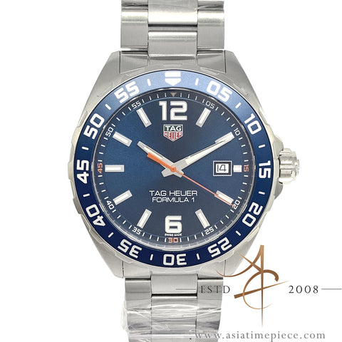 New Tag Heuer Formula 1 Blue Quartz (2018)