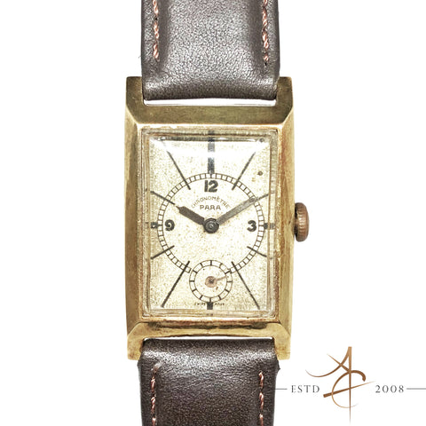 Para Chronometre 14K Solid Gold Winding Vintage Watch (1946)