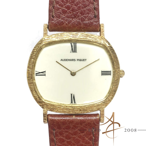 Audemars Piguet 18K Gold Vintage Winding Watch