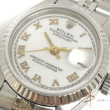 (SOLD) Rolex Ladies Datejust Ref 6917 Roman Dial Automatic Vintage Watch (1976)