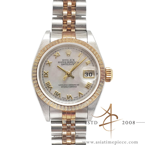 Rolex Datejust Ladies 79173 Mother of Pearl Roman Dial (1999)