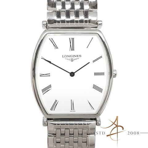Longines Le Grande Classique L47054 Quartz Midsize  Steel Watch