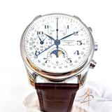 (SOLD) Longines Master Collection Moonphase Chronograph Automatic L26734783