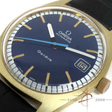 (SOLD) [Rare] Omega Geneve Ref 166.041 Blue Dial Automatic Vintage Watch