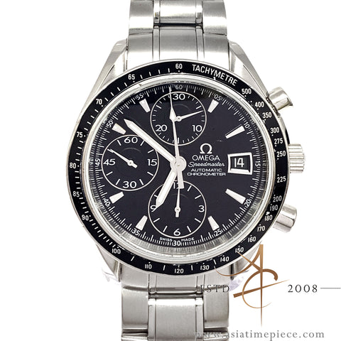 Omega Speedmaster Date Chronograph Automatic 3210.50 Black (2008)