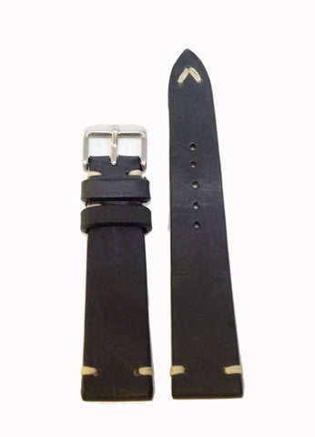 Vintage Calf Leather Watch Strap (19, 20, 22mm)
