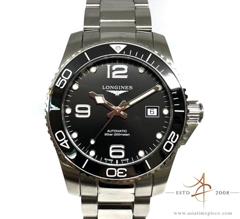 Longines HydroConquest Ceramic Black L3.781.4.56.6 (2019)